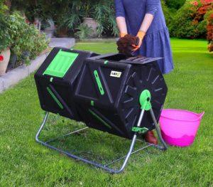 upp composteur rotatif compost