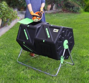 upp composteur rotatif dechets