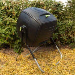 lifetime 60076 composteur rotatif installe