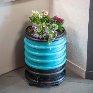 lombricomposteur wormbox 3 plateaux jardiniere bleu