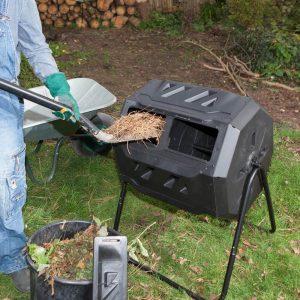 wiltec composteur rotatif utilisation