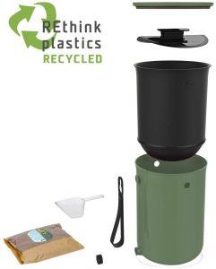 skaza bokashi organko 2 plastique recycle